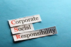 Csr abbreviation Royalty Free Stock Image