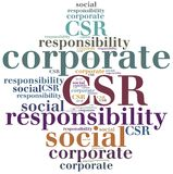 CSR. Corporate social responsibility. Stock Photos