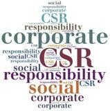 CSR. Corporate social responsibility. Stock Photos