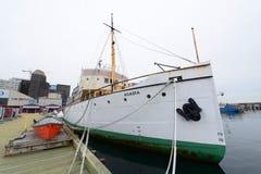 Css-Acadia, Halifax, Nova Scotia, Kanada Royaltyfri Fotografi