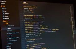 Css3 en editor de código imagenes de archivo