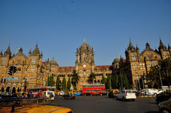 CST Mumbai Royalty Free Stock Photo