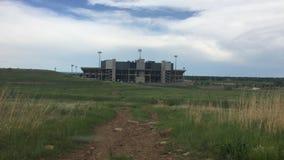 CSU-RAM-Stadion Fort Collins im Ruhestand 2016 Co lizenzfreie stockfotos