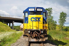 CSX Diesel Locomotive Royalty Free Stock Photo