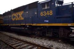 CSX drevmotor royaltyfria foton