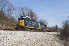 CSX Freight Train Royalty Free Stock Image