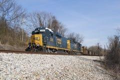 CSX-Güterzug Lizenzfreies Stockbild