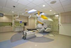CT扫描医疗诊断的前进技术 免版税库存图片
