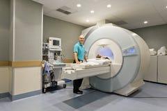 CT扫描程序 库存图片