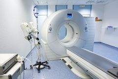 CT (Computed tomography) scanner in hospital Royalty Free Stock Photo