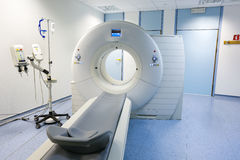 CT (Computed tomography) scanner in hospital Stock Photos