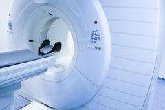 CT (Computed tomography) scanner in hospital Stock Image