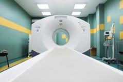 CT (obliczająca tomografia) przeszukiwacz w onkologia szpitalu Zdjęcia Royalty Free