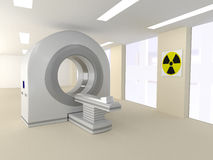 CT room in a hospital Stock Photos