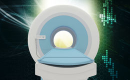 CT Scan Machine Royalty Free Stock Photography
