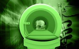 CT Scan Machine royalty free illustration