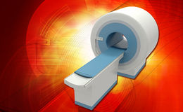 CT Scan Machine Royalty Free Stock Images
