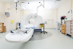 CT Scan Machine Royalty Free Stock Photo
