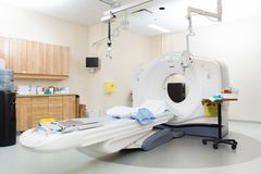 CT Scan Room In Hospital Stock Photography