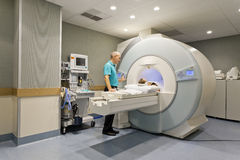 CT scanner Stock Photos