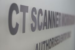 CT scanner Royalty Free Stock Photos
