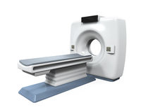 CT Scanner Tomography. Isolated on white background. 3D render Royalty Free Stock Photo