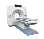 CT Scanner Tomography. Isolated on white background. 3D render Stock Photo
