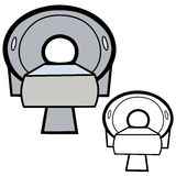 CT Scanner Royalty Free Stock Images