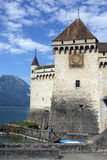 Ctateau de Chillon - Lake Geneva - Switzerland Stock Image