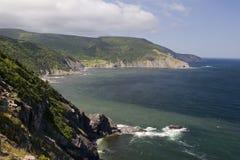 Côte d'île de Breton de cap Photos libres de droits