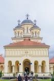 Ctedrala Reintregirii Neamului,阿尔巴尤利亚 库存图片