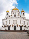 Cthedral of Christ Savior, Russia Royalty Free Stock Images