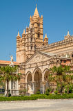Cthedrale in Palermo. Exterior of the Duomo di Palermo Stock Photo