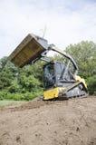 CTL нажимая грязь Стоковое Фото