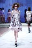 CTOC Porter Fashion Show: Boudoir, Zagreb, Croácia Imagens de Stock