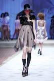 CTOC Porter Fashion Show: Boudoir, Zagreb, Croácia Fotografia de Stock Royalty Free