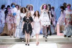 CTOC Porter Fashion Show: Boudoir, Zagreb, Croácia Foto de Stock