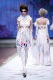 CTOC Porter Fashion Show: Boudoir, Zagreb, Croácia Fotos de Stock Royalty Free