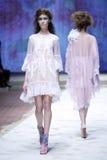 CTOC Porter Fashion Show: Boudoir, Zagreb, Croácia Imagens de Stock Royalty Free
