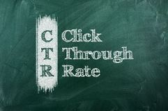 CTR Foto de Stock Royalty Free