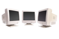 CTR monitors Royalty Free Stock Photography