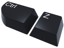 Ctrl Z Royalty Free Stock Image