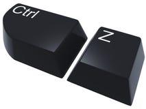 CTRL Z Imagem de Stock Royalty Free