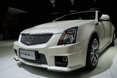 Cts-V van Cadillac, 2014 CDMS Royalty-vrije Stock Afbeelding