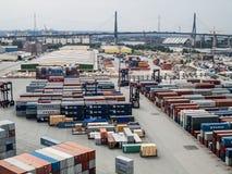 CTT-Container Eindtollerort royalty-vrije stock afbeeldingen