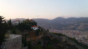 Cty Castle Alanya Royalty Free Stock Photo