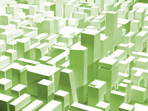 Ctyscape vert illustration de vecteur