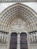 Cuál fue nombrado la arquitectura más hermosa, Notre Dame de Pa Fotos de archivo
