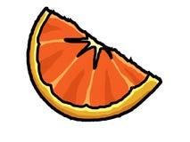Cuña anaranjada Imagen de archivo libre de regalías