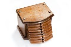 Cuñas de madera Fotos de archivo